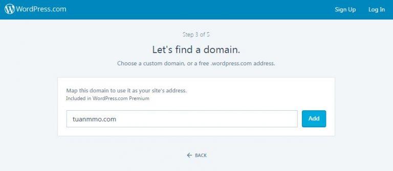 sử dụng domain riêng